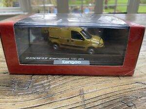 1:43 Norev Renault Kangoo 1.5l dCi - face lifted version - Yellow - Brand New