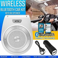 Universal Bluetooth Wireless Car Kit Handsfree Speaker Phone In-Car Speakerphone