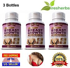 BREAST GROWTH PUERARIA MIRIFICA Larger Breasts Skin Care Helps Menopause 180Caps