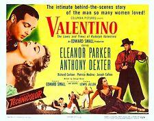 16mm drama VALENTINO starring Anthony Dexter