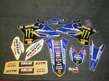 Yamaha YZ125 YZ250 2015-2018 Star Racing Team graphics + plastic set GR1634
