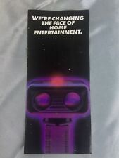 NES/Nintendo ROB Robot Information Booklet OEM Insert *UNICORN IN HAYSTACK RARE*