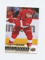 18/19 UPPER DECK YOUNG GUNS CANVAS ROOKIE RC #C213 JOE HICKETTS RED WINGS *61340