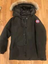 Mens Black Canada Goose Jacket, Pre Owned, Size XL