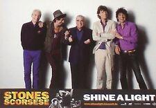 SHINE A LIGHT - Lobby Cards Set - ROLLING STONES - Mick Jagger, Martin Scorsese