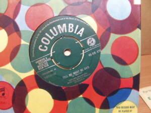 """Helen Shapiro – Tell Me What He Said 1962 7"""" Columbia DB 4782"""