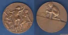 Médaille - Flore Les 3 Graces Nues Par Dedieu Bronze 58 Grammes