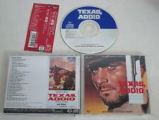 ANTONIO GARCIA ABRIL/TEXAS, ADDIO+ORIG. SOUNDTRACK(KICP 2593) JAPAN CD ALBUM+OBI