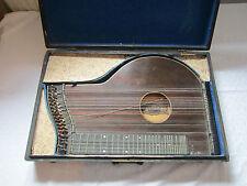 eine sehr alte Konzert Zither von F.Jühling Dresden  im Holzkoffer