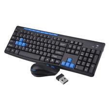 Gaming Wireless 2.4G keyboard and Mouse Set Kit to Computer Multimedia Gamer BI