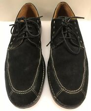 Tommy Bahama Spencer Black Suede Leather Rubber Leather Sole Shoes Men's 11 M US