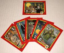 IMPEL 1991 UNIVERSAL MONSTERS 6 TRADING CARD SET halloween CREATURE Dracula etc