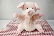 GUND   Bubble gum Pink Hamlet? Pig Full Body Hand Puppet (D1)