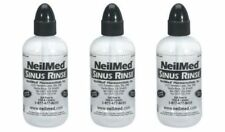 NeilMed Sinus Rinse 3 Squeeze Bottles - For Use With Saline Packets