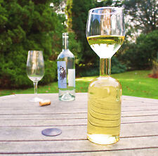 Wine Bottle Glass, Wine for One
