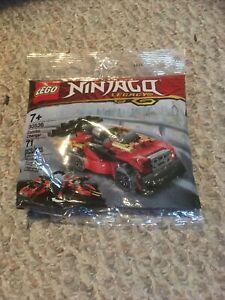 LEGO30536 Ninjago Legacy Combo Charger Polybag SEALED NEW 71pcs