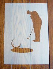 GOLF Stencil Riutilizzabile Mylar Foglio per Arts & Crafts, fai da te