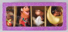 Disney Lion King An Enchanted Christmas 4 Plush Ornaments Set