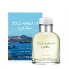 Dolce & Gabbana Light Blue Discover Vulcano Homme - 75ml Eau De Toilette Spray.