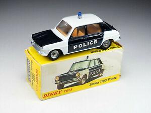 DINKY TOYS FRANCE - 1450 - Simca 1100 Police - En boite
