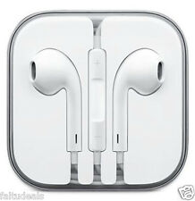 White Earphones for Apple iPhone 4/5/5S/5C/6/6Plus COmpatible