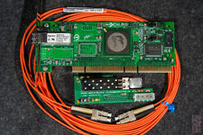 2Gbit Fiber/Fibre Channel kit -- T-Card with SFP, PCI cards, LC-LC cable