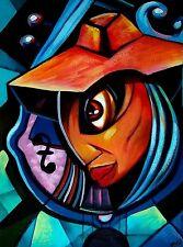 Original Art Painting Cuban Santiago De Cuba Artist YAMIL RUIZ 06