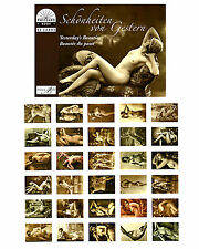 Postkartenbuch Schönheiten, historische Akte 30 Postkarten Erotik