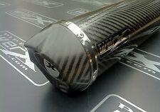 Yamaha Fazer Fzs 600 Carbono Ronda, carbono Salida De Escape, silenciador r/legal