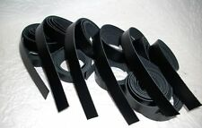 10 Lederriemen schwarz * * 1,23 m x 2,5 cm 2 mm* *