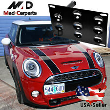 Bumper Tow Hook License Plate Mounting Holder For Mini R60 R61 F55 F56 Paceman