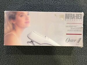 Oster dual Intensity Infra-Red Massager / Vibrator Model 396-08 with Box - Works