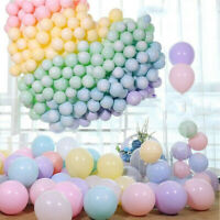 "10~50pcs 10"" 5"" Candy Macaron Latex Balloons for Kids Baby Shower Wedding Party"