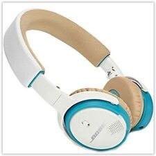 Bose SoundLink On-Ear Bluetooth Wireless White Blue 714675-0020 Headphones