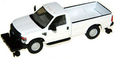 "Ho River Point Station Ford F350 White "" No Name "" Hi-Rail : 1/87 Model Truck"