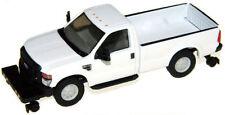 """HO RIVER POINT STATION Ford F350 White """" No Name """" Hi-Rail : 1/87 Model Truck"""