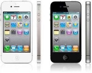 Apple iphone 4  Unlocked ( 32GB ) Black / White  Available