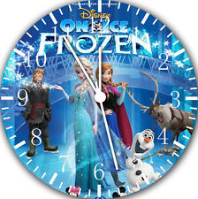 """Disney Frozen wall Clock 10"""" will be nice Gift and Room wall Decor E08"""