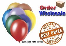 "WHOLESALE BALLOON 100/5000 10"" Latex BULK PRICE High Quality Any Occasion BALOON"