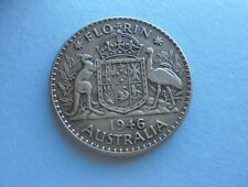 Australia, Florin 1946  in Good Condition.
