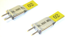BSD 27mhz Am Transmitter and Radio RC Crystal Set 27 MHz 26.995 TX & RX Yellow CH 2