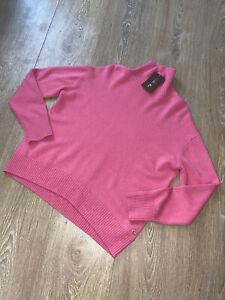 Loro Piana 100% Kaschmir Pullover Pink Gr.40 Oversized