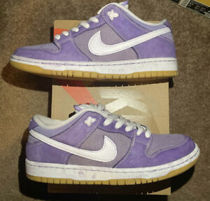 Nike Dunk Low Unbleached Pack Size 9.5 Lilac