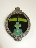 Walt Disney's The Haunted Mansion Oval Mirror with Ghost Trading Pin