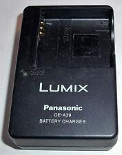 CAMERA CHARGER GENUINE ORIGINAL LUMIX PANISONIC DE-A39 DMW-BCE10 DMW-BCE10E