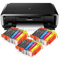 CANON Pixma IP7250 Tintenstrahldrucker DRUCKER FOTODRUCKER CD-BEDRUCK + 15x XL