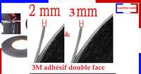 Double face adhésif 3M 1mm, 2mm, 3mm autocollant pour vitre tactile LCD