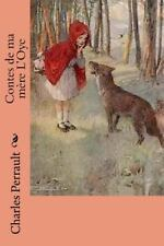 Contes de Ma Mere L'Oye by Charles Perrault (2015, Paperback, Large Type)
