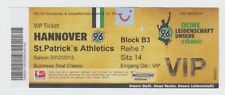 Orig.VIP Ticket   Europa League 2012/13  HANNOVER 96 - St.PATRICK`s ATHLETICS !!