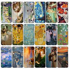 Clásico Arte Colección fundas para iPhone Rango 3dp famusas Pintura Artista